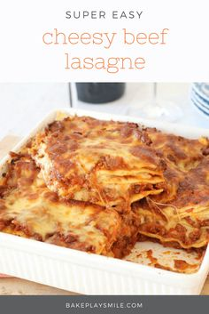 Our Thermomix family dinners are quick, easy. From a simple lasagne to pasta, meatballs to fritters, chow mein to soup and more! Beef Lasagne, Lasagne Recipes, Beef Recipes, Cooking Recipes, Lasagne Dish, Chicken Lasagna, Savoury Recipes, Pasta Recipes