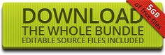 ByPeople: A huge free bundle for web professionals, 500mb of free files in one single download.