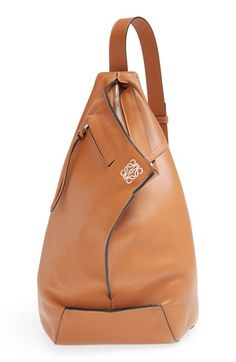 LOEWE 'Small Anton' Calfskin Leather Sling Bag available at #Nordstrom