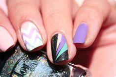 Holo & Pastel nail art by Romana - Nailpolis: Museum of Nail Art