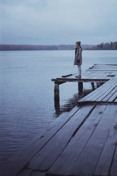 """""""I used to stand on the end of the dock every day at 6:30. And I would just stand, enveloped in a calming nothingness."""""""
