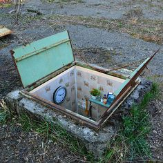 Secret Rooms Installed Inside Abandoned Manhole Covers on the Streets of Milan