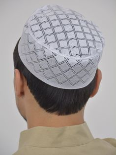 ced0a913fec Classic Knit Checkered Kufi