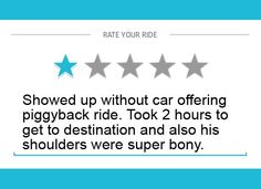 uber passenger rating below 4