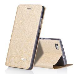 For Huawei P8 Lite Case Cover Silicone Flip Leather Huawei P8 Lite Back Case 5.0 inch Original Wallet Aluminium Mofi founda 2017
