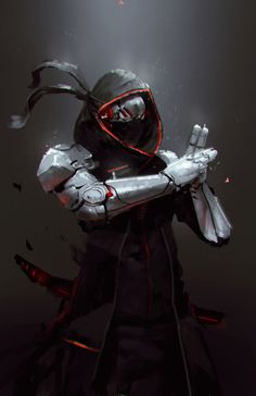 Robot Ninja by jeffchendesigns on DeviantArt