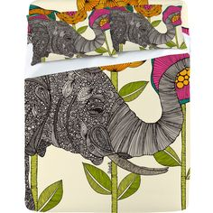 Elephant bed sheets