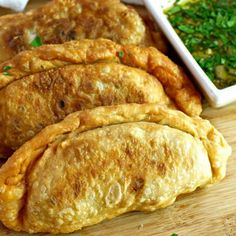 Easy and delicious Cuban Empanadas with a delicious picadillo filling and a flaky crust. Homemade dough included!