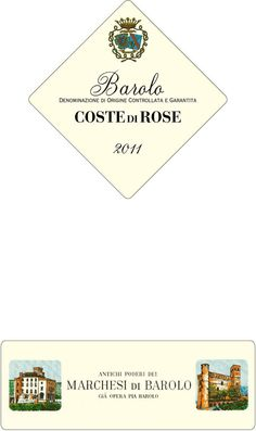 Marchesi di Barolo Coste di Rose 2011 - only 4 bottles left!