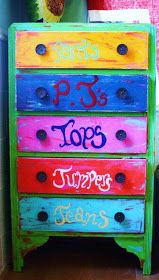 The Art Of Up-Cycling: Furniture Upcycling Ideas-Upcycled Chest Of Drawers...Fab...