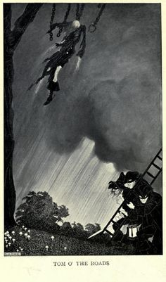 """Illustration from Lord Dunsany's """"The Last Book Of Wonder,"""" 1916. Description from pinterest.com. I searched for this on bing.com/images"""