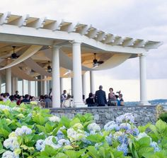The Chanler at Cliff Walk - Terrace Wedding #wedding #chanler #cliffwalk | Repinned by http://www.borisyukphotography.com
