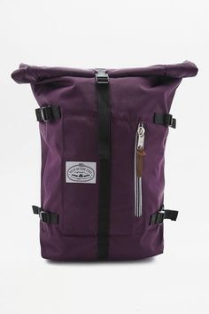 Slide View: 1: Poler Classic Purple Rolltop Backpack