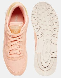 Image 3 ofReebok Coral Classic Leather Transform Trainer