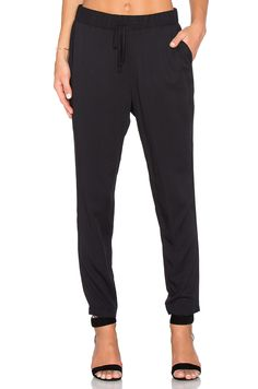cupcakes and cashmere Dempsey Pant in Black