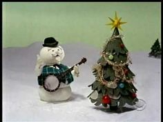 """Sam the Snowman (Burl Ives) sings """"Silver and Gold"""" from the Stop Motion Animated Christmas Classic Movie, Rudolph the Red-Nosed Reindeer. A Rankin/Bass Prod. Christmas Shows, Christmas Music, Christmas Love, Retro Christmas, Christmas Carol, All Things Christmas, Winter Christmas, Christmas Classics, Christmas Ideas"""