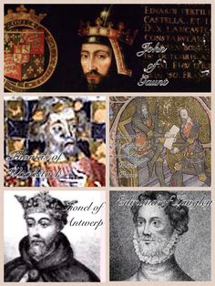 Edward III had seven legitimate sons and three illegitimate. The more well known ones were the Black Prince, John of Gaunt, William of Hatfield, Lionel of Antwerp, Edmund of Langley, Thomas of Windsor, William of Windsor and Thomas of Woodstock.