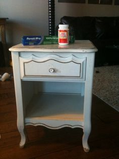 How to Tin Foil a Nightstand