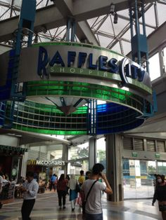 Raffles City Shopping Centre in Singapore