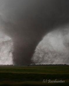 June 20th, 2011 Large stovepipe tornado southwest of Silver Creek, NE. It was a monstrous tornado!