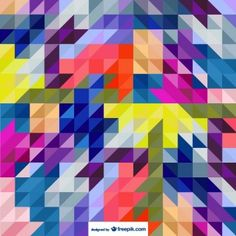 Fondo con triángulos estilo abstracto