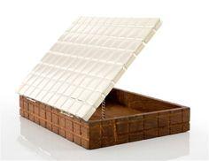 Cuadro Box made of algarrobo wood and alpaca #etcmiami