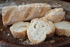 Sin gluten es más rico: Baguettes sin gluten... Baguette, Pasta Sin Gluten, Lactose Free Recipes, Cooking Recipes, Healthy Recipes, Healthy Food, Sem Lactose, Pan Bread, Fodmap Diet