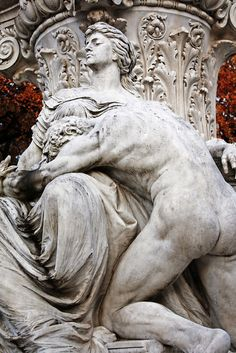 All is lost Goethe Monument, Rome, Villa Borghese.