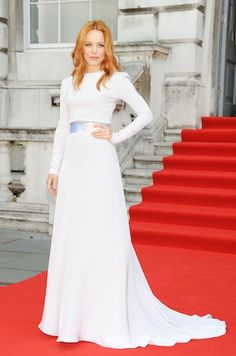 Runway to Red Carpet: Suited Stars and a Musical Hem   style file   Style.com