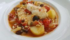 Siciliaanse kabeljauw, recept van vriend Luciano.