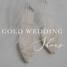 493f1d3f533f6f 32 Best Gold Wedding Shoes images in 2019