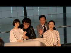 Japan Unveils Androids That Look Creepily Too Human  ARTICLE: http://www.occupycorporatism.com/home/japanese-unveils-androids-look-creepily-human/?utm_source=Top+US+World+News+ +Susanne+Posel+Daily+Headlines+and+Research&utm_medium=FB Kodomoroid and Otonaroid: Professor Ishiguro's new androids at Miraikan