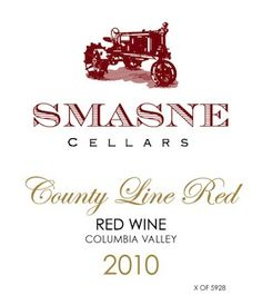 Smasne Cellars 2010 County Line Red, Columbia Valley, $24