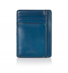 This sleek Sefton Own Card Holder in Poseidon Blue comes with six card slots and two note holders. Linen lined this is a simple yet stylish accessory in which to keep your cards. Hand crafted and coloured, this wallet is made in the finest Italian leather Leather Card Wallet, Italian Leather, Card Holder, Stylish, Gifts, Blue, Accessories, Gift Ideas, Fashion