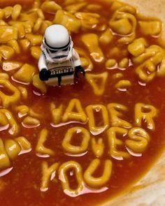Darth Vader Loves You #StarWars