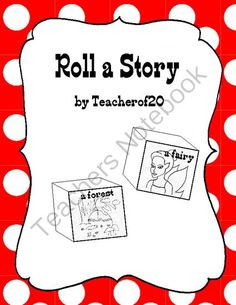 Roll a Story from teacherof20 on TeachersNotebook.com -  (7 pages)  - With this product you can create 2 dice, which students will roll to give them a setting and a character. After rolling a setting and character they will then write a short story with those two.
