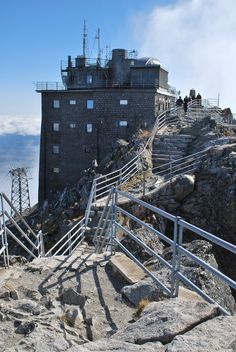 Lomnický štít. The highest situated point in Slovakia where people regularly work is the observatory at the top of the peak Lomnický štít in the mountain range Vysoké Tatry. It is at the altitude above sea level of 2,632 m. The top of the peak Lomnický štít in the mountain range Vysoké Tatry is the ideal place for valuable meteorological and astronomical research and measurement. The building from 1940 was constructed along with the rope funicular and it is a remarkable technical structure. High Tatras, Sea Level, Bratislava, Mountain Range, Capital City, National Parks, Construction, Europe, Earth