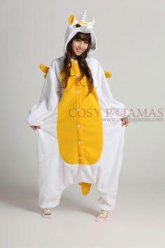 Golden Unicorn Onesie Kigurumi Pajamas! Want it so bad