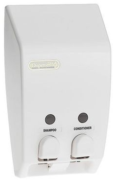 Better Living Classic Two Chamber Dispenser, White