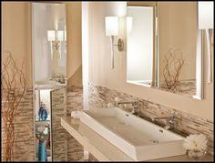 Transitional, Minimal, Simple Luxury Medicine Cabinet.  LuxuryMedicineCabinets.com, Mirrored Medicine Cabinets