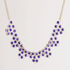 Women's jewelry - necklaces - Stone storm necklace - J.Crew - StyleSays