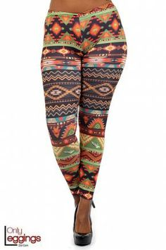 ea695412dcc Druid Tribal Leggings - Plus Size Tribal Leggings