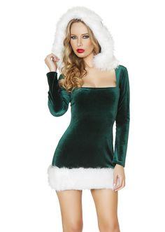 Elf Beauty Hooded Dress