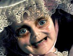 Scary baby doll. #buzzfeed