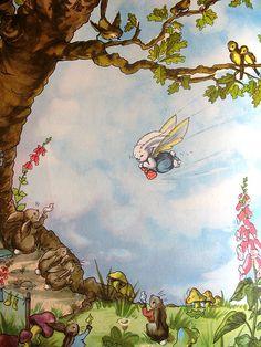 flying pookie by lottielulu, via Flickr