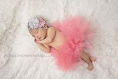 Tutu and Headband Set - Luxe Coral Pink - Precious Jewel Collection - Newborn Tutu - Girls Infant Baby Child Toddler Tutu