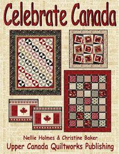 Canada Panel Quilt Pattern Fabrics Northcott