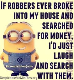 Top 30 Very Funny Minion Images & Quotes – Quotations and Quotes #Etsy #Danahm1975 #Jewelry