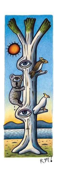 Reg Mombassa ~ Tribute Banner : Eye Gum with Creatures Australian Painting, Australian Art, Skateboard Design, Skateboard Art, Surfboard Drawing, National Art School, Famous Art Pieces, Acid Art, Ex Machina