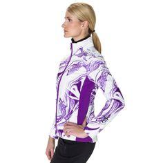 Silver Softshell Print Jacket 3000 by Volkl